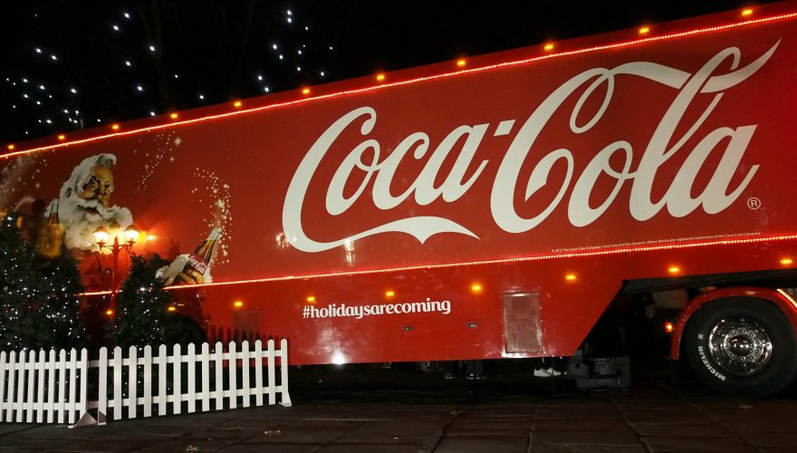 Coca-cola,Christmas,Truck,Visits,Preston,On,The,2nd,Day,Of